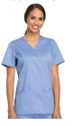 Cherokee Scrubs Workwear Revolution V-Neck Top WW620 all color and sizes-NWT