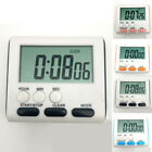 Large LCD Digital Kitchen Cooking Timer Count-Down Up Clock Loud Alarm Magnetic&
