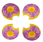 2/6X Inflatable Floating Swimming Pool Beach Drink Can Cup Beer Holder Boat Toy