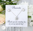 Bridesmaid Jewelry | Bridesmaid Gift | Bridesmaid Proposal | Bridal Jewelry Lot