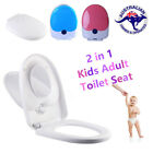 Kids Adult Toilet Training 2 in 1 Children Baby Toddler Potty Safety Seat Chair
