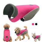 Reflective Waterproof Dog Clothes Warm Fleece Lined Pet Dog Coat Jacket Apparel