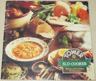 Tower Slo-Cooker Recipes, Instructions, & Guarantee