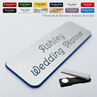 MAGNET Custom Engraved Name Badge tag Activities Co-ordinator Accountant + Fonts