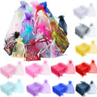 50pcs Organza Gift Bags Favour Jewellery Pouches/ 5000x Crystal Diamond Confetti