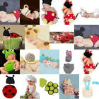 Infant Cute Knit Hat Crochet Outfit Photo Animal Costume Clothes Newborn Baby