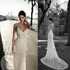Wedding Dresses Bridal Gowns V Neck Strapless Spaghetti Straps A Line Lace 2018