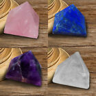 Amethyst Crystal Pyramid Egyptian Clear Stone Home Desk Decor Healing Gifts 25mm