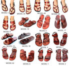 Original Jerusalem Biblical Jesus Leather Sandals Handmade for Man  Women Lots