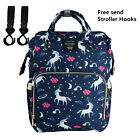 LEQUEEN Mummy Diaper Backpack Large Capacity Maternity Nappy Baby Travel Bag