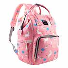 Diaper Bag Backpack Capacity Unicorn Baby Travel Backpack Free Get Stroller Hook