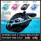 Full Face Snorkel Mask Anti-Fog Surface Swimming Goggles Diving Scuba for GoPro