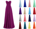 New Cheap Long Chiffon Formal Evening Party Cocktail Gowns Bridesmaid Dress 6-18