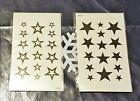 STARS - Temporary Tattoo - Fancy Dress - Parties - Differen Designs