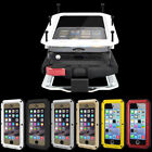 For iPhone XS MAX XR Samsung S7 S8 S10 Heavy Duty Armor Shockproof Tough Hybrid