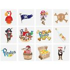Childrens Pirate Tattoos Kid Party Bag Fillers Children's Transfer Temporary