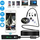 WIFI Camera Snake Inspection Endoscope Waterproof IP68 Android & IOS HD 1200P 1X