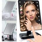 light up makeup - 22 LED Touch Screen Makeup Mirror Tabletop Cosmetic Vanity light up Mirror RT