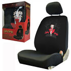 New Betty Boop Skyline Red Dress Single Car Truck Front Low Back Seat Cover $25.89 USD on eBay