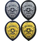 Security Guard Embroidered Iron On Badge Patch USA Made