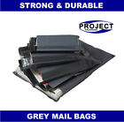 All Sizes Grey Mailing Bags Postal Postage Post Mail 6x9 10x14 12x16 17x24 55mu