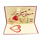 3D Pop Up Greeting Card Engagement Wedding Birthday Valentines Gifts 2018