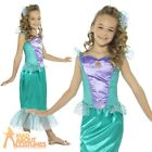 Child Mermaid Costume Book Week Day Girls Ariel Fancy Dress Outfit Kids