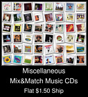 Miscellaneous(6) - Mix&Match Music CDs U Pick *NO CASE DISC ONLY*