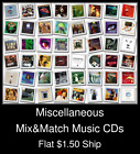 Miscellaneous(8) - Mix&Match Music CDs U Pick *NO CASE DISC ONLY*
