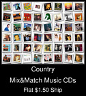 Country(8) - Mix&Match Music CDs U Pick *NO CASE DISC ONLY*