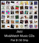 Jazz(8) - Mix&Match Music CDs U Pick *NO CASE DISC ONLY*