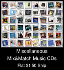Miscellaneous(11) - Mix&Match Music CDs U Pick *NO CASE DISC ONLY*
