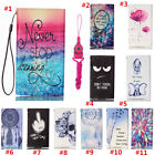 New fashion Cartoon Flower Leather slots wallet pouch case skin cover #6 A