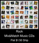 Rock(17) - Mix&Match Music CDs U Pick *NO CASE DISC ONLY*