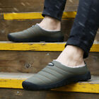 Men's Winter Home Indoor Slippers Shoes Warm With velvet Waterproof US 5.5-10.5