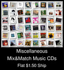 Miscellaneous(18) - Mix&Match Music CDs U Pick *NO CASE DISC ONLY*