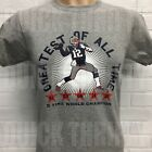 NEW ENGLAND PATRIOTS TOM BRADY **GREATEST OF ALL TIME** T-SHIRT