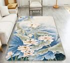 3D Lotus Flowers 209 Non Slip Rug Mat Room Mat Quality Elegant Photo Carpet AU