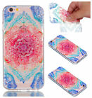 Rubber TPU Silicone Pattern Phone Case Cover For Samsung S7S8 Phone 5-X HuaweiS8