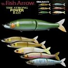 FISH ARROW JOINTED FLOATING SWIMBAIT GLIDE JACK 180F