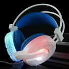 Gaming MIC LED Headset CellPhone Headphones For 3.5mm jack PC   Phone Lot CK