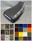 HONDA TRX450s Seat Cover Fourtrax Foreman S in 2-tone BLACK & CONCEAL CAMO  (ST)