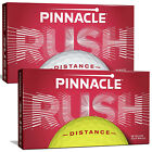 Pinnacle Rush Golf Balls - Choose Quantity Colour Distance Sleeve 15 Pack