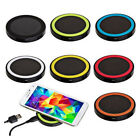 Qi Wireless Charger Mat Charging Pad Phone Convertible For Samsung iPhone
