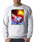 Gildan Long Sleeve T-shirt Fantasy Good Evil Light Darkness Angel Devil