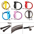 Hot Adjustable Steel Wire Skipping Jump Rope Cross fit Fitnesss Equipment MU