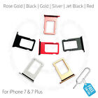 Replacement Nano Sim Card Tray Slot Holder for Apple iPhone 7 & iPhone 7 Plus +