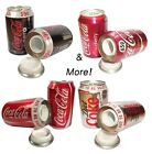 Cola 330ml STASH CAN Safe for Festival Cash Money Camping Work Car LIQUID SOUND!
