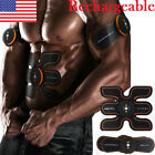 Rechargeable Abs Stimulator Abdominal Muscle Training Toning Belt Waist Fitness image