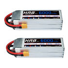 2pcs HRB 6000mAh 5S 18.5V RC Lipo Battery 50C 100C for Drone Airplane Auadcopter